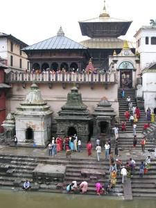 Kathmandu Pashupatinath 00 Pashupatinath Temple From Across Bagmati River