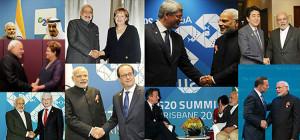 pm modi meets g20 leaders in australia