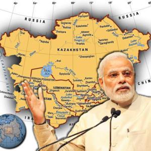 भारत-मध्य अशिया संबंधाचा नवा अध्याय!