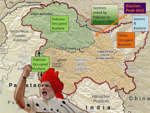 modi- jammu-kashmir and pok, cok