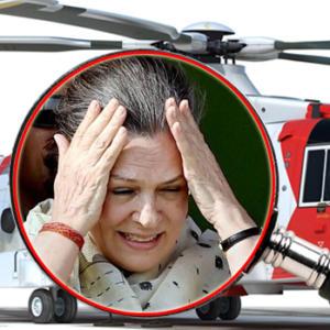 हेलिकॉप्टर घोटाळ्याचे 'गांधी'कनेक्शन!
