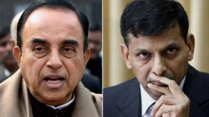 BJP leader Subramanian Swamy and RBI Governor Raghuram Rajan